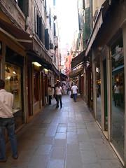 Street Shops in Venice