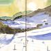 170219 les Glières (Frozen watercolor) by Vincent Desplanche
