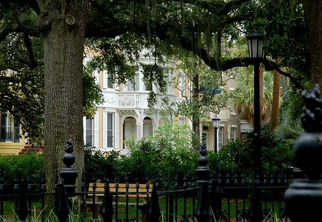 Historic home and a savannah square flickr photo sharing for Historic houses in savannah ga