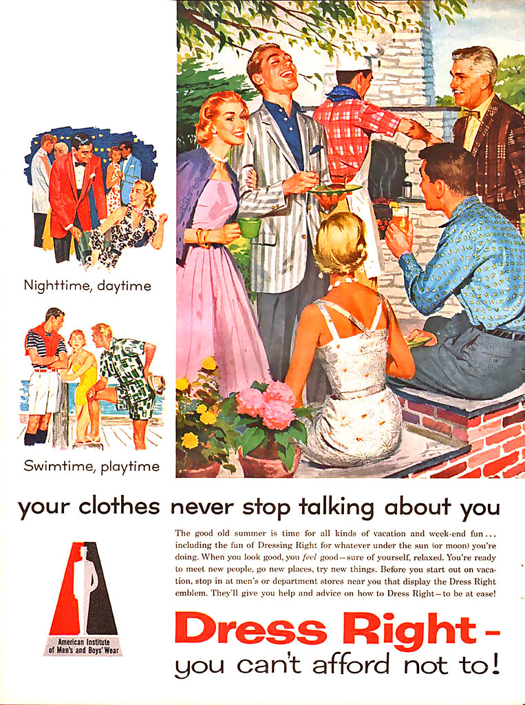 1957 ... talking clothes!