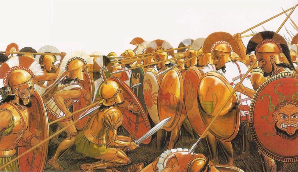 Hoplites Battle