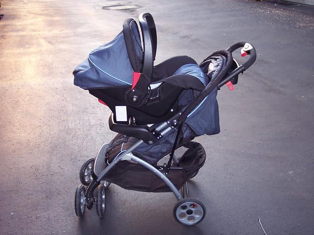 eddie bauer stroller car seat 50 obo flickr photo sharing. Black Bedroom Furniture Sets. Home Design Ideas