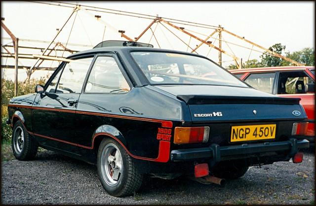 1980 ford escort 1 6 sport flickr photo sharing. Black Bedroom Furniture Sets. Home Design Ideas