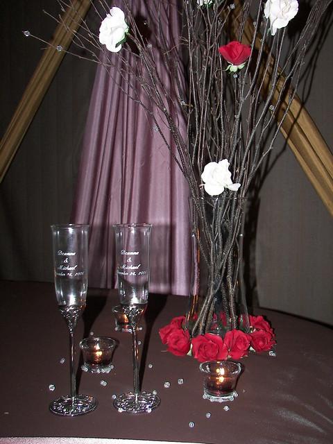 Bride & Groom Table Decor | Flickr - Photo Sharing!