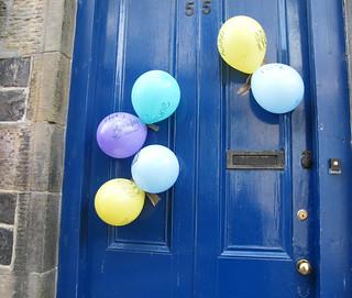 front door on my birthday