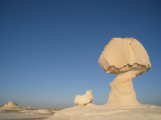 Depresión de Farafra, El Desierto Blanco de Egipto