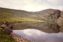 mountain, reservoir, loch, lake, hill, highland, tarn, fell, landscape, wilderness, wadi, rural area, lake district, mountainous landforms,