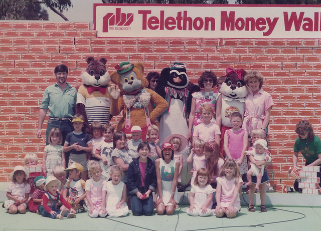 Telethon Money Wall