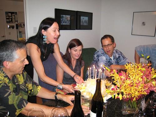 party, orchids, fuchsia, yellow, birthday c… IMG_0015
