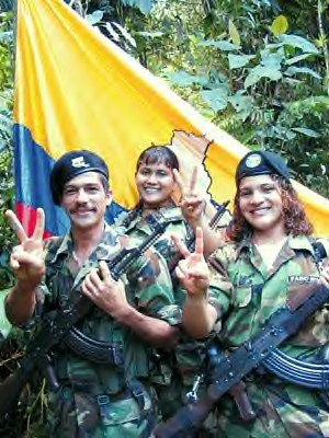 Combatants from the Revolutionary Armed Forces of Colombia (FARC). by Pan-African News Wire File Photos