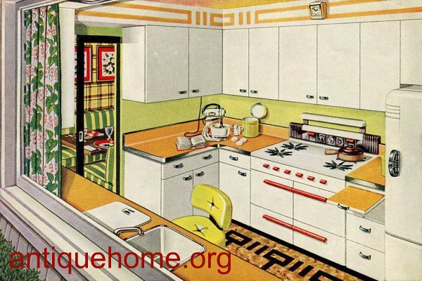 1950 Kitchen - Golden Glow - Kitchen Design