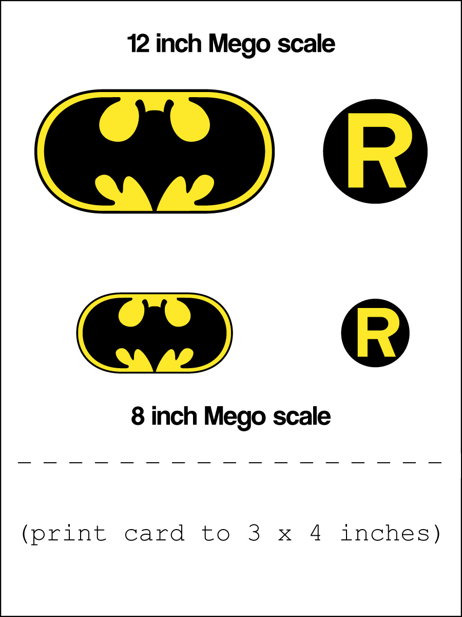 Mego Batman And Robin Symbols A Photo On Flickriver