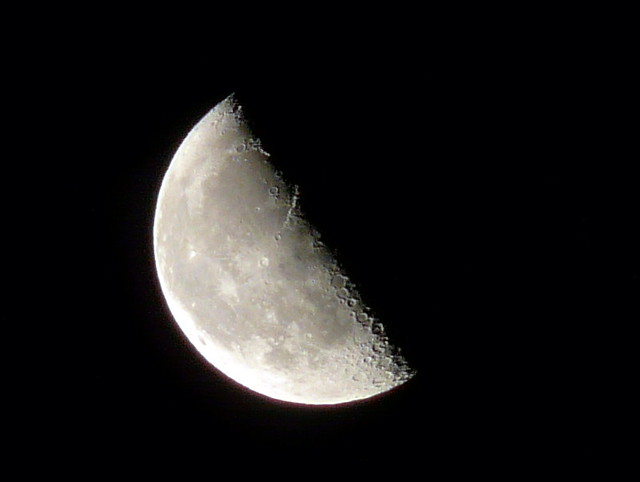 Waning half moon luna cuarto menguante explore jasolo for Cuarto menguante de la luna
