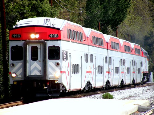 CalTrain Through Atherton
