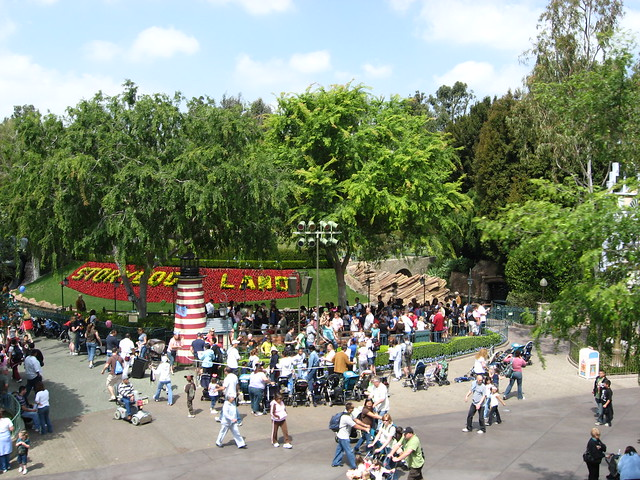 A view of the ride
