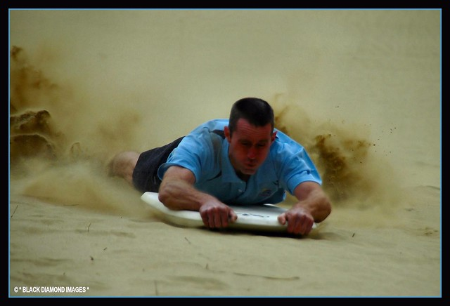 Brakes On - Sand Boarding - Cape Reinga NZ