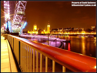 London Riverside City View at Night