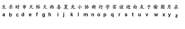 japanese alphabet | Flickr - Photo Sharing!