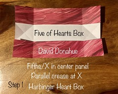 Harbinger Heart Box designed by David Donahue Step 1