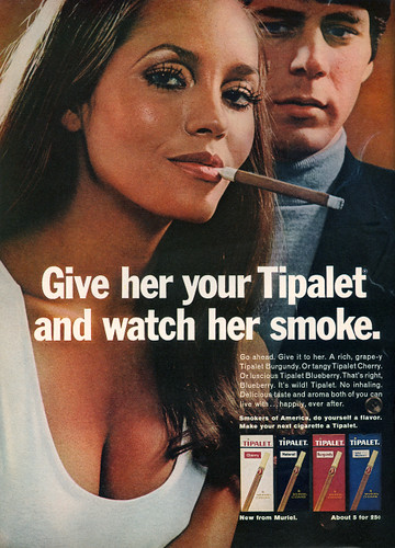 Give her your Tipalet and watch her smoke.