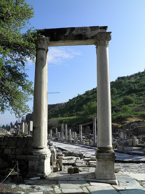 Hadrian's Gate, Ephesus, Turkey