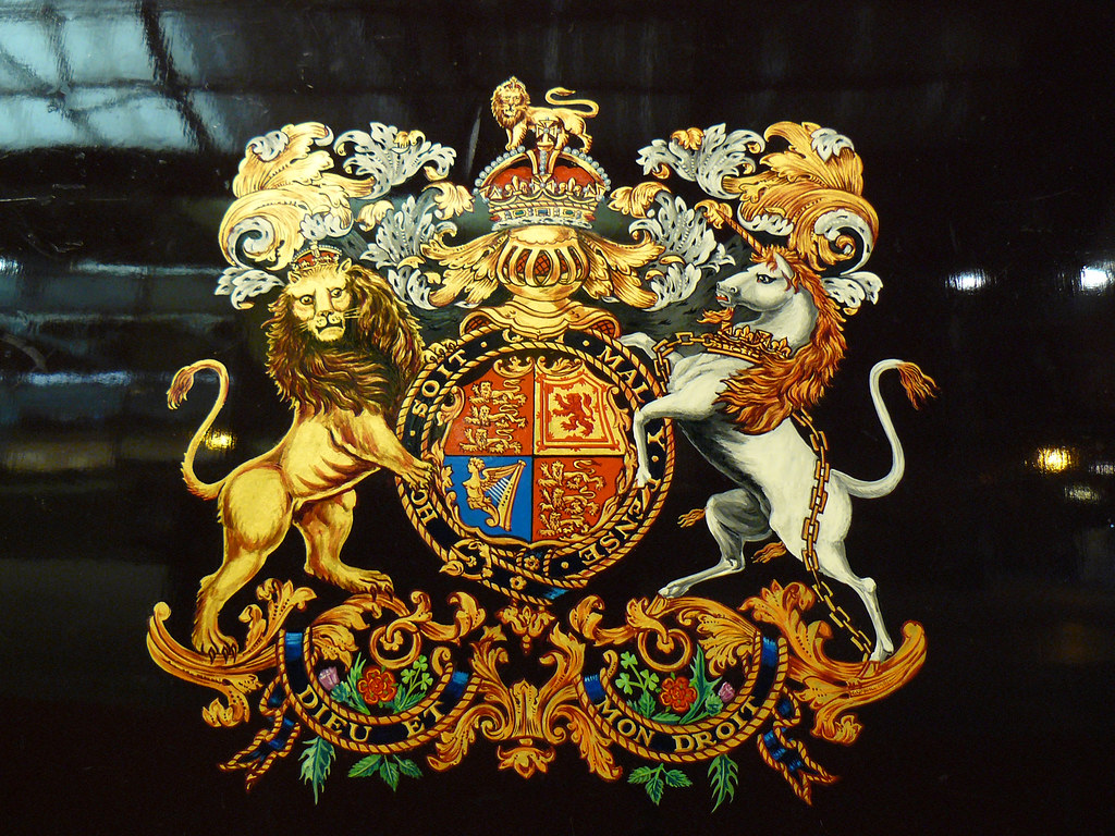 Nrm Revisited Royal Coat Of Arms Flickr Photo Sharing