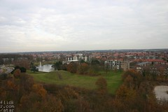 Bussum from atop the watertower.