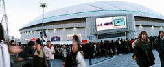 outside tokyo dome  - i'm here!