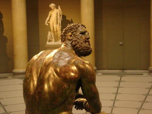 Ein Boxer aus Rom in Berlin