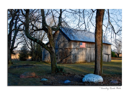 old winter architecture rural sunrise buildings countryside nikon photos farm flag country barns indiana land weathered agriculture nikkor lightroom cs3 countryroadsphoto hoosierphotographer