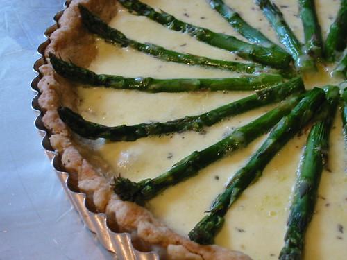 Asparagus & Gruyere Tart (large)