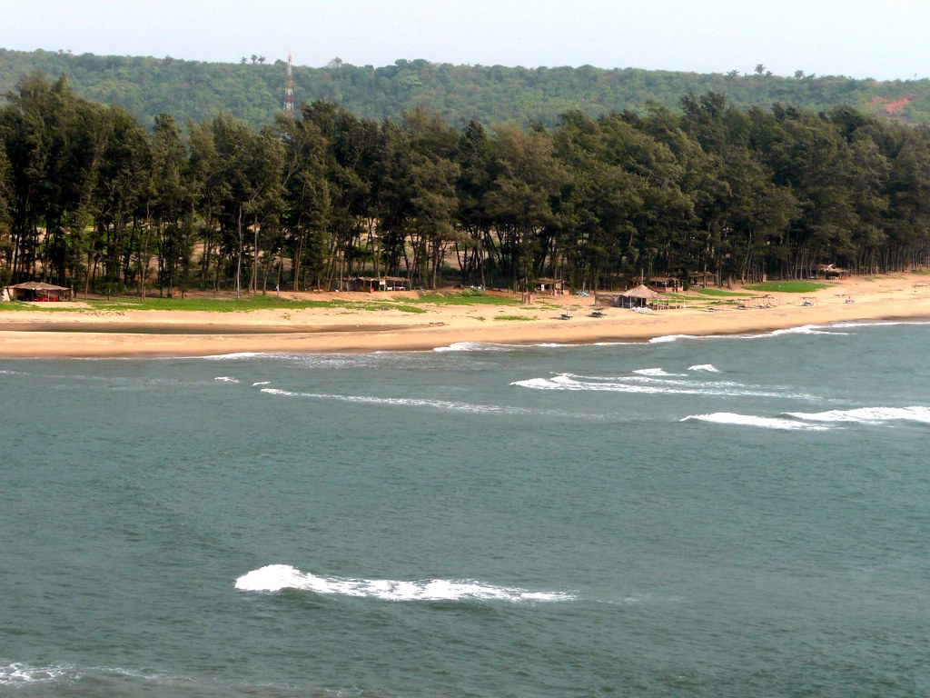 Goa beach photo. best beach in Goa