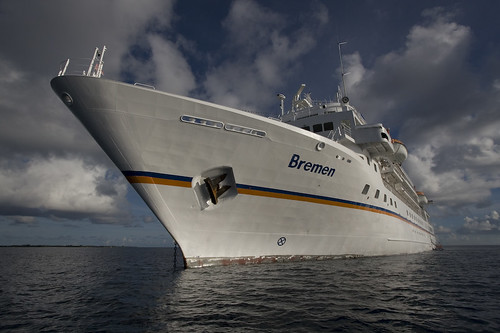 MS Bremen frontview by Travel Daniel