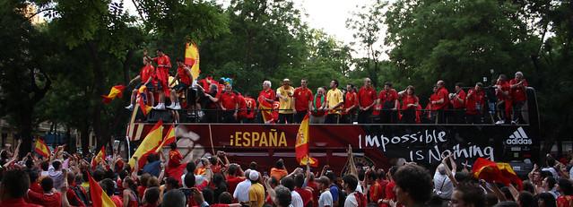 Celebración Eurocopa 2008