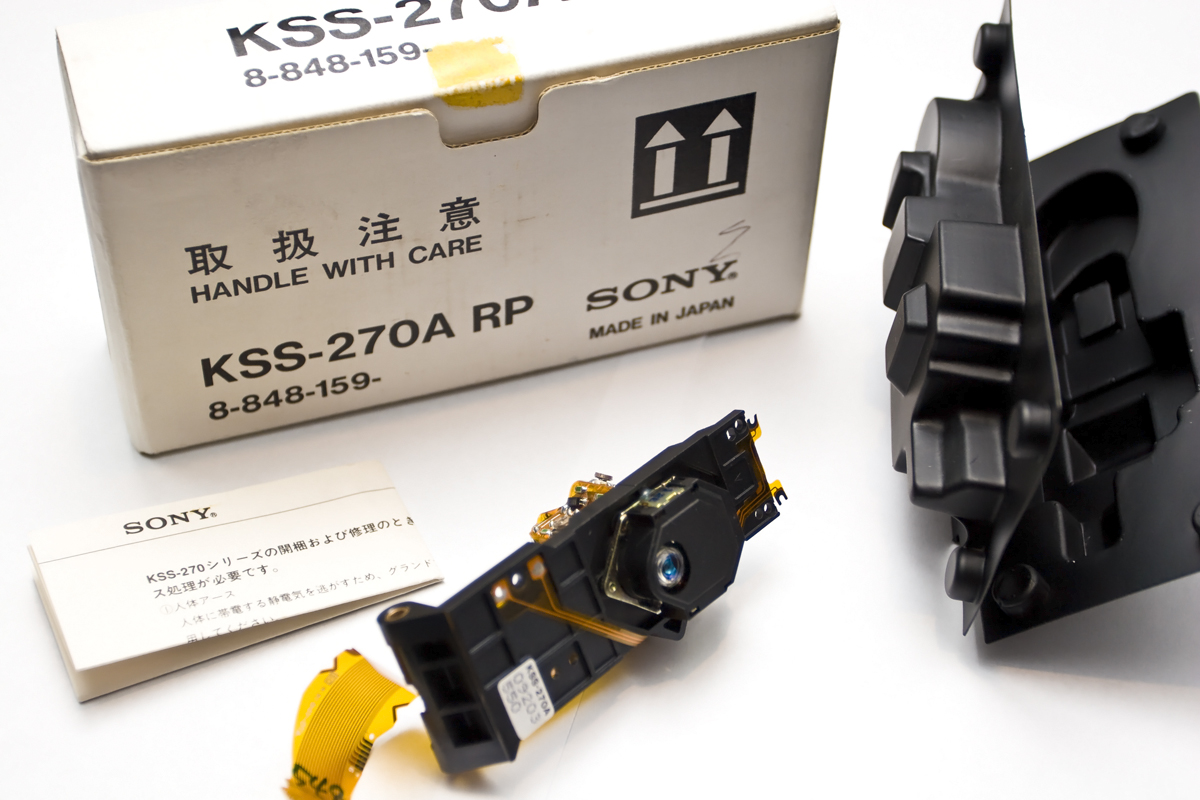 Sony KSS-270A Laser Block (NEW)