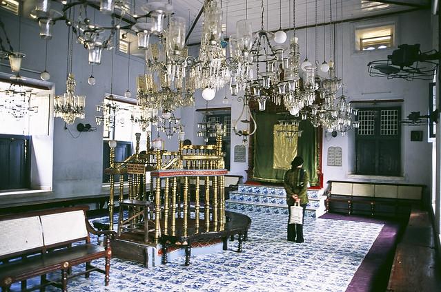Paradesi Synagogue in Kochi, India