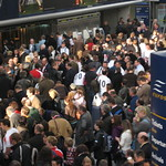 England fans at Waterloo 1