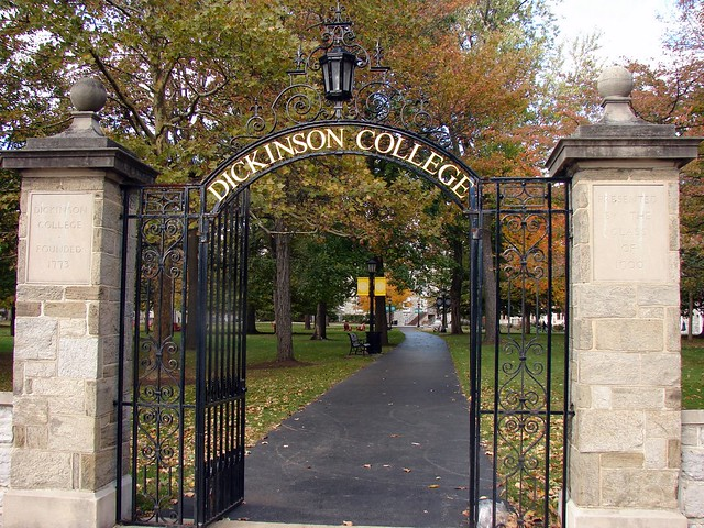 Dickinson College Entrance Gate Flickr Photo Sharing