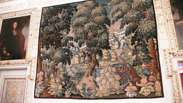 Tapestry, Bedroom, Castle Waldegg, Feldbrunnen