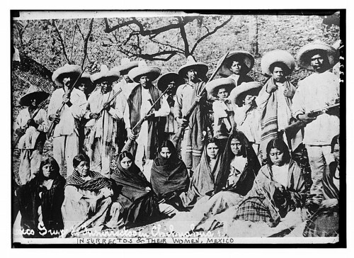Insurrectos & their women, Mexico  (LOC)