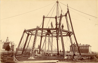 Marston Water Tower Construction, 1897