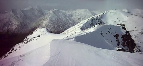 South Glen Shiel Ridge in Winter