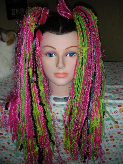 Yarn Spun From Human Hair 11