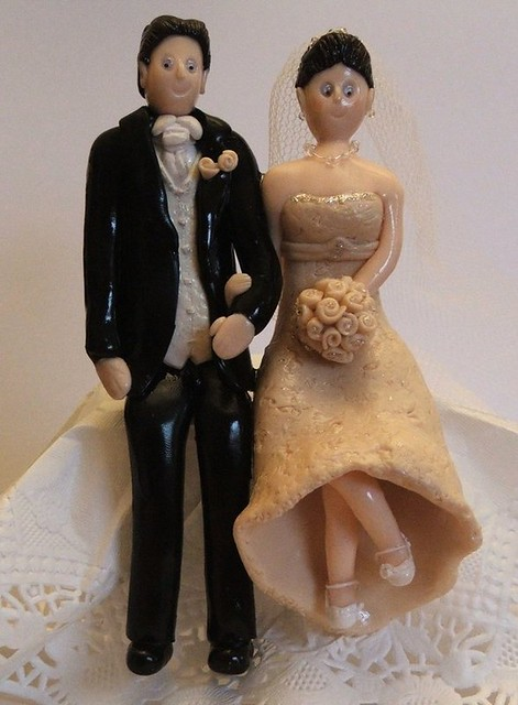 wedding cake toppers sitting down flickr photo sharing