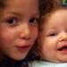 Zoe and Maya. Summer 2008.
