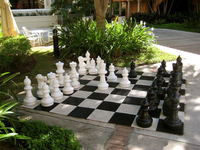 near life sized chess set flickr photo sharing