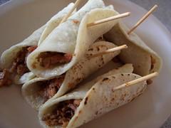 meal, breakfast, taquito, flatbread, sandwich wrap, tortilla, food, dish, cuisine,