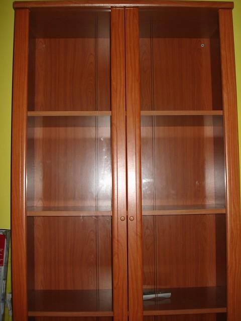 Librer a con puertas de cristal flickr photo sharing - Libreria billy con puertas ...
