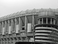 Santiago Bernabéu football stadium