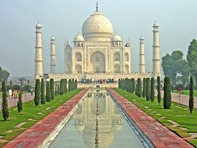 India-6099 - Taj Mahal from Flickr via Wylio